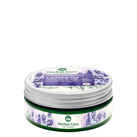 HERBAL CARE - Masło do ciała Lawenda z mleczkiem waniliowym, poj. 200 ml