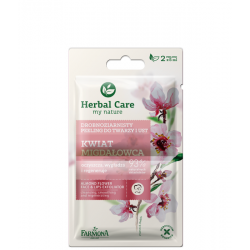 HERBAL CARE - Kwiat Migdałowca drobnoziarnisty peeling do twarzy i ust, poj. 2 x 5 ml