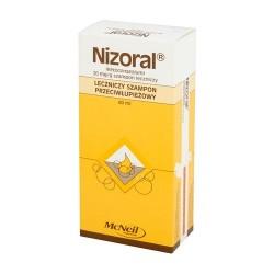 Nizoral - szampon leczniczy, (20 mg / g), poj. 60 ml