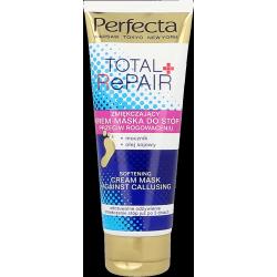 Perfecta Body - TOTAL REPAIR, Zmiękczający KREM-MASKA do stóp przeciw rogowaceniu, poj. 100 ml