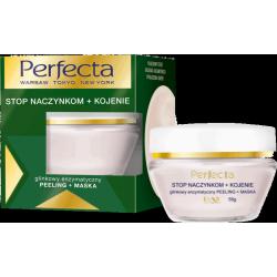 Perfecta STOP NACZYNKOM + KOJENIE - glinkowy enzymatyczny PEELING + MASKA, poj. 55 g