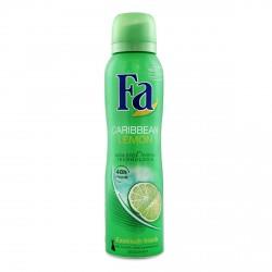 Fa Caribbean Lemon 48h - dezodorant w aerozolu dla kobiet, poj. 150 ml
