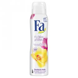 Fa Floral Protect - dezodorant w sprayu, Orchid & Viola, poj. 150 ml