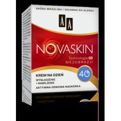 AA NOVASKIN - krem na dzień 40+, wygładzenie + nawilżenie, poj. 50 ml