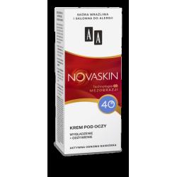 AA NOVASKIN - krem pod oczy 40+, wygładzenie + odżywienie, poj. 15 ml