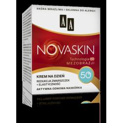 AA NOVASKIN - krem na dzień 50+, redukcja zmarszczek + elastyczność, poj. 50 ml