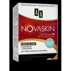 AA NOVASKIN - krem na noc 50+, ujędrnienie + odbudowa, poj. 50 ml