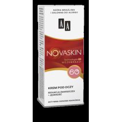 AA NOVASKIN - krem pod oczy 60+, redukcja zmarszczek + jędrność, poj. 15 ml
