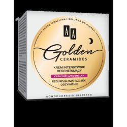 AA GOLDEN CERAMIDES - krem intensywnie regenerujący na noc, cera sucha/normalna, poj. 50 ml