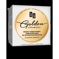 AA GOLDEN CERAMIDES - bogaty krem-maska odbudowująca, poj. 50 ml