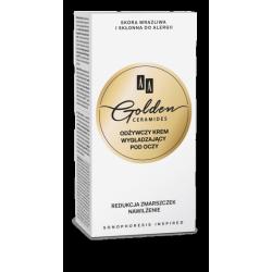 AA GOLDEN CERAMIDES - odżywczy krem wygładzający pod oczy, poj. 30 ml