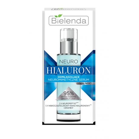 Bielenda NEURO HIALURON - neuromimetyczne serum odmładzające dzień/noc, poj. 30 ml