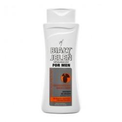 Biały Jeleń For Men - hipoalergiczny szampon do włosów BIAŁY JELEŃ FOR MEN z ekstraktem z chmielu, poj. 300 ml