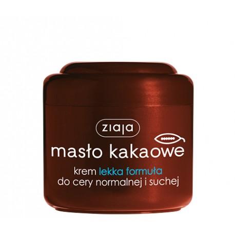 Ziaja Masło Kakaowe - krem lekka formuła do cery normalnej i suchej, poj. 200 ml
