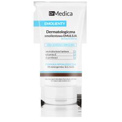 Dr Medica EMOLIENTY - dermatologiczna emolientowa emulsja do mycia twarzy, cera dojrzała i wrażliwa, poj. 150 ml