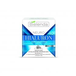 Bielenda NEURO HIALURON - nawilżający krem – koncentrat przeciwzmarszczkowy 40+ dzień/noc, poj. 50 ml