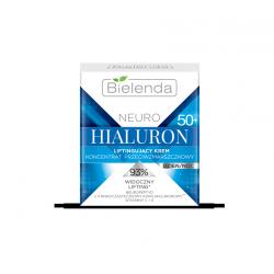 Bielenda NEURO HIALURON - liftingujący krem – koncentrat przeciwzmarszczkowy 50+ dzień/noc, poj. 50 ml