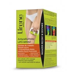 Lirene - antycellulitowy lipo-masaż, zestaw do masażu + antycellulitowa maska, 1 szt.