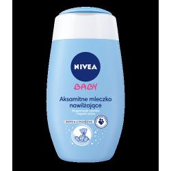 Nivea Baby - aksamitne mleczko nawilżające, poj. 200 ml