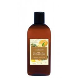 Eco Botanica Citrus Melon - Mint, aromatyczny olej do masażu, poj. 200 ml