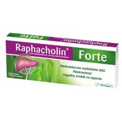 Raphacholin forte - tabletki powlekane, 10 szt.