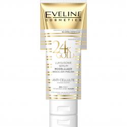 Eveline 24K Gold - luksusowe serum modelujące brzuch, uda i pośladki, poj. 250 ml