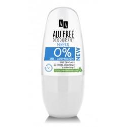 AA ALU FREE - dezodorant 0% SOLI ALUMINIUM, Mineral, poj. 50 ml