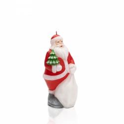 Mikołaj - świeca dekoracyjna, figurka z diodą