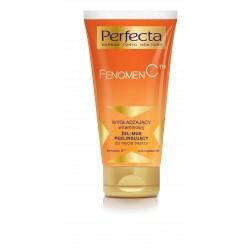 Perfecta Fenomen C - WYGŁADZAJĄCY witaminowy ŻEL-MUS PEELINGUJĄCY do mycia twarzy, poj. 150 ml
