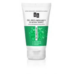 AA TRI-MICELLAR - żel peelingujący do mycia twarzy, cera mieszana/normalna, poj. 150 ml