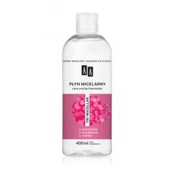 AA TRI-MICELLAR - płyn micelarny, cera sucha/normalna, poj. 400 ml