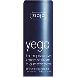 Ziaja Yego - krem przeciw zmarszczkom dla mężczyzn, poj. 50 ml