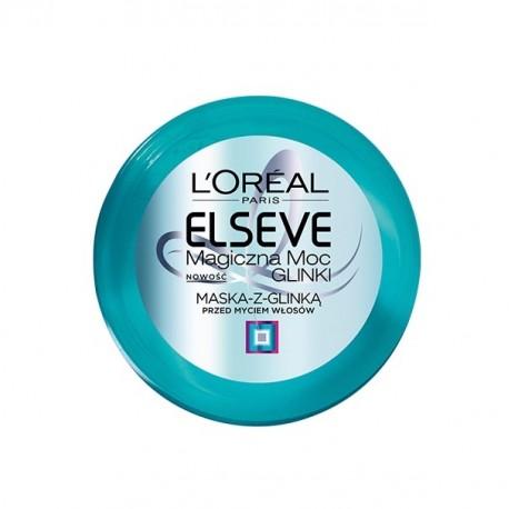 L'Oréal Paris, Elseve, Magiczna Moc Glinki - maska z glinką przed myciem włosów, do przetłuszczających się u nasady, poj. 150 ml