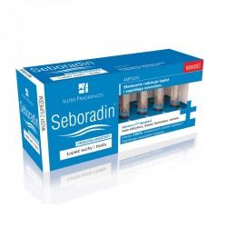 Seboradin Przeciwłupieżowy - płyn w ampułkach, łupież suchy i tłusty, poj. 14 ampułek x 5,5 ml