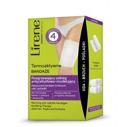 Lirene Termoaktywne Bandaże - rozgrzewający zabieg antycellulitowo-modelujący, poj. 180 ml