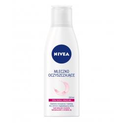 NIVEA - mleczko oczyszczające, cera sucha i wrażliwa, poj. 200 ml