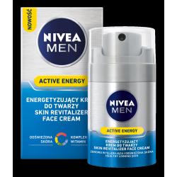 NIVEA MEN Active Energy - energetyzujący krem do twarzy, poj. 50 ml