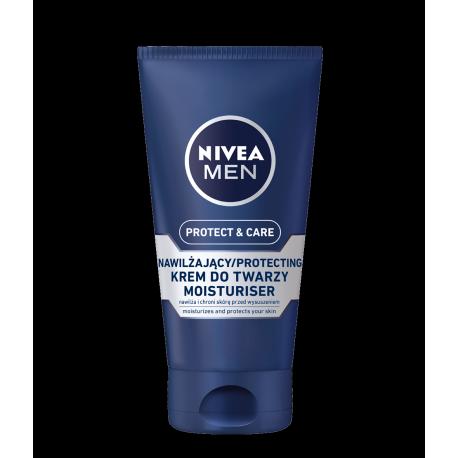 NIVEA Men Protect & Care - nawilżający krem do twarzy, poj. 75 ml