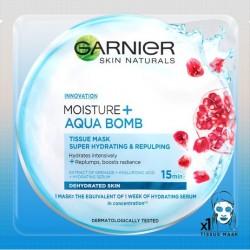 Garnier Moisture + Aqua Bomb - maska kompres super nawilżenie i wygładzenie, 32 g