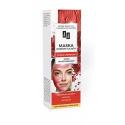 AA CARBON&CLAY - maska rozświetlająca, glinka czerwona, cera mieszana i normalna, poj. 30 ml