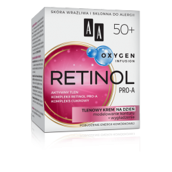 AA OXYGEN INFUSION - RETINOL PRO-A, tlenowy krem na dzień 50+, poj. 50 ml
