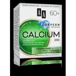 AA OXYGEN INFUSION - CALCIUM JONO, tlenowy krem na dzień 60+, poj. 50 ml