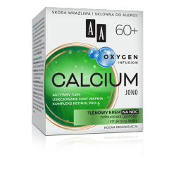 AA OXYGEN INFUSION - CALCIUM JONO, tlenowy krem na noc 60+, poj. 50 ml