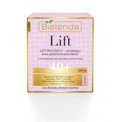 Bielenda LIFT - liftingująco–nawilżający krem przeciwzmarszczkowy 40+ DZIEŃ, SPF 10, poj. 50 ml