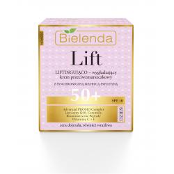 Bielenda LIFT - liftingująco–wygładzający krem przeciwzmarszczkowy 50+ DZIEŃ, SPF 10, poj. 50 ml