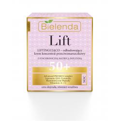 Bielenda LIFT - liftingująco–odbudowujący krem – koncentrat przeciwzmarszczkowy 50+ NOC, poj. 50 ml