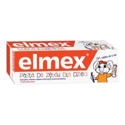Elmex - pasta do zębów dla dzieci z aminofluorkiem od 1 ząbka do 6 lat, poj. 75 ml