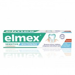 Elmex Sensitive Whitening - pasta do zębów z aminofluorkiem, poj. 50 ml