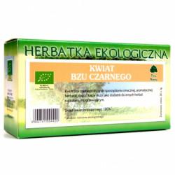 Herbatka Bez Czarny Kwiat EKO, poj. 20 saszetek x 2 g
