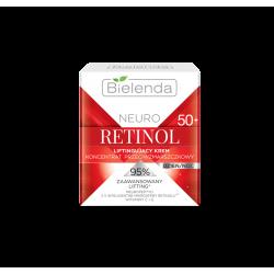 Bielenda NEURO RETINOL - liftingujący krem – koncentrat przeciwzmarszczkowy 50+ dzień/noc, poj. 50 ml